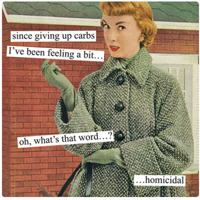 carbohydrates jokes friday giving up carbs