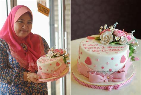 Kotak Hantaran Bentuk Cantik kek hantaran perkahwinan kek kahwin kek pertunangan kek