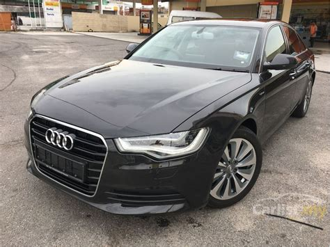 2013 Audi A6 2 0 Tfsi audi a6 2013 tfsi 2 0 in selangor automatic sedan black