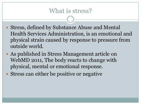Mba Is Stressful by Sle Essay Stress Management