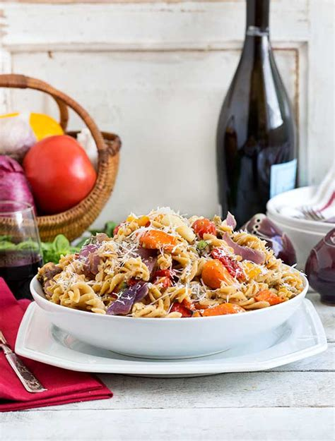how are vegetables gluten free gluten free fusilli with roasted vegetables recipe