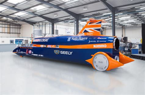 Bloodhound SSC land speed record car moves into final
