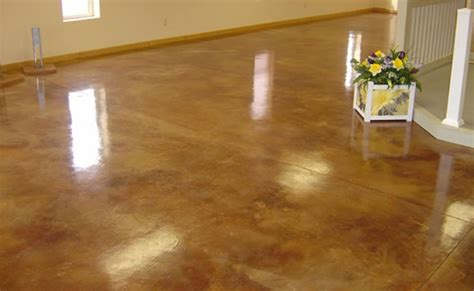 diy stained concrete floors cost tedx decors the