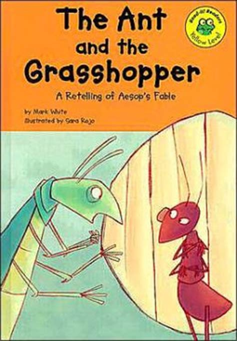 the ant and the grasshopper picture book ant and the grasshopper a retelling of aesop s fable by