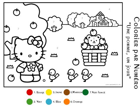 Ordinary Jeux Disney Gratuit En Francais #12: Coloriage-magique-hello-kitty.gif