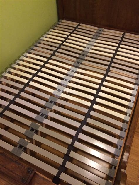 bed base ikea ikea hack custom size slatted bed base project du jour