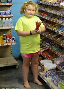 Here Comes The Barefoot by Honey Boo Boo Following June S Split From Sugar