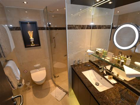 rich bathrooms photo tour inside the hottest new ship on the seine avalon waterways blog