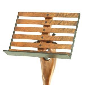 Music Chair Sculpted Music Stand Bubinga Amp Wenge