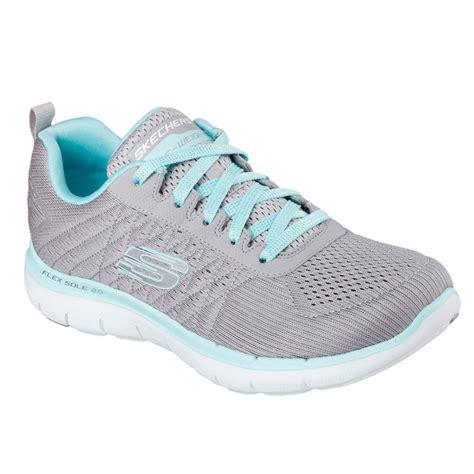 Skechers Go Flex Walk Original Trend Hits 2017 1 skechers sport flex appeal 2 0 free womens grey running shoes pumps