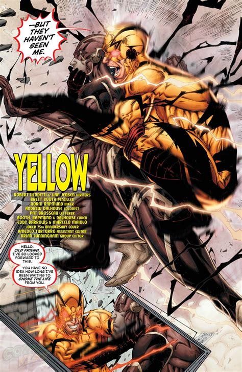 along with the gods zoom comics professor zoom makes his new 52 dcyou entrance