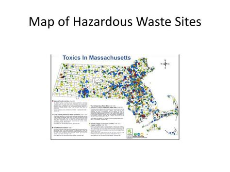 Map Of Hazardous Waste Sites | ppt site evaluation powerpoint presentation id 1559963