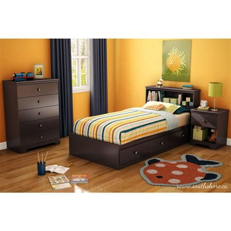 south shore storage bed south shore zach storage bed 3569080 the home depot