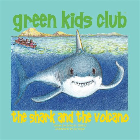baby shark book the shark and the volcano green kids club sustainable