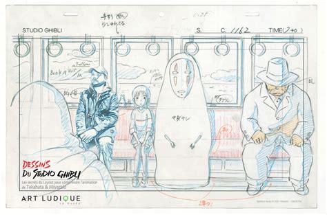 studio ghibli layout designs exhibition daniel lieske blog quot dessins du studio ghibli quot exhibition