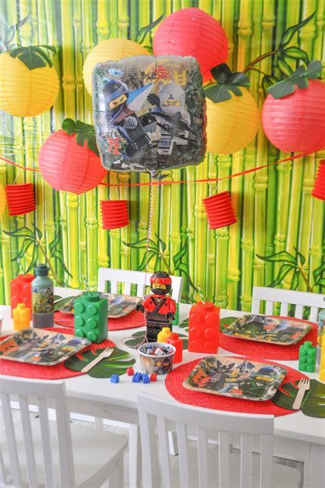 Fiesta Infantil The Lego Ninjago De Racion De