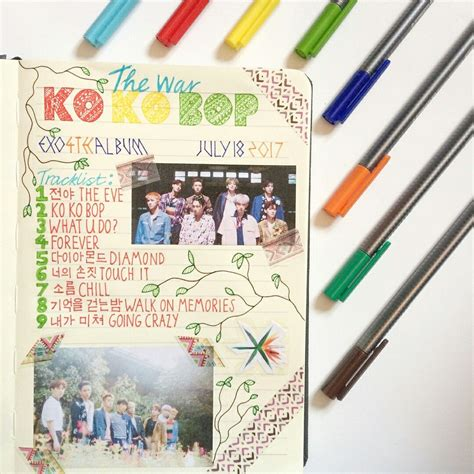 exo journal pin by ng 244 lộc diệc loan on exo goods pinterest exo