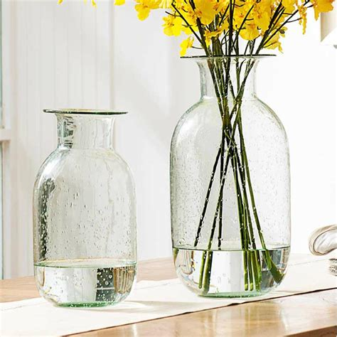 Decorative Glass Flower Vases Top Grade European Style Home Wedding Decorative Glass