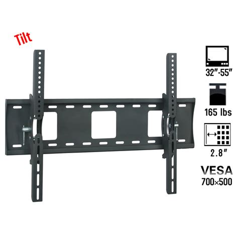 creative concepts tv wall mount for flat panels 13 30 quot cc tv wall mount vesa 700 500 bracket 32 46 50 55 inch led