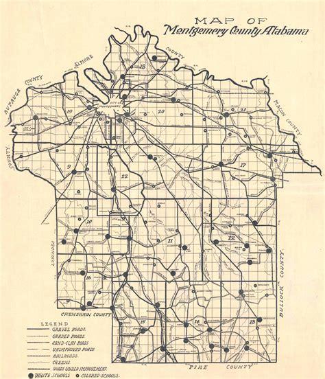 montgomery alabama map file 1918 map of montgomery county alabama jpeg
