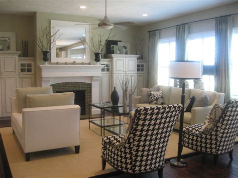 model home interior designers decorating inspiration black white hooked on houses