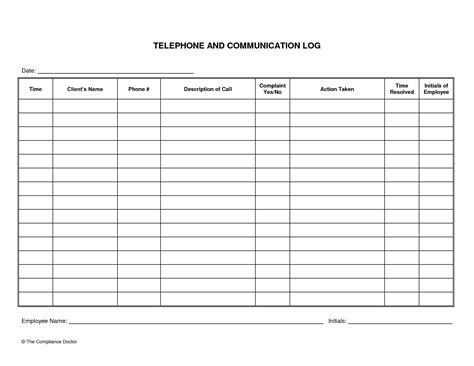 parent contact log template parent contact log template resume