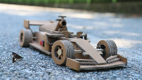 How To Make A F1 Car Out Of Paper - how to make amazing f1 racing car cardboard diy
