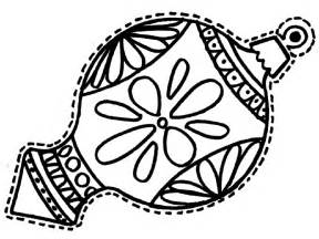 Christmas ornament coloring page wallpapers9