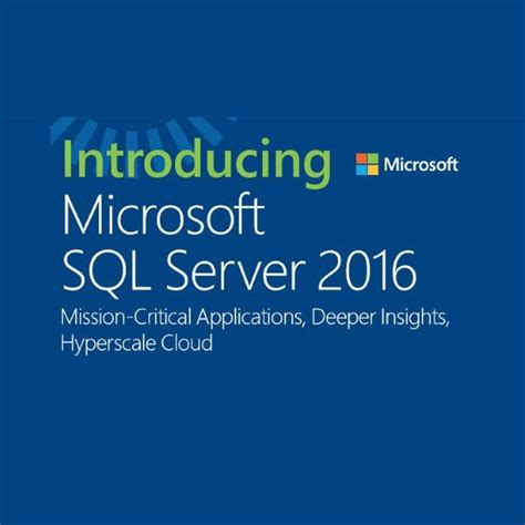 Microsoft Sql Server microsoft sql server 2016 license build your own