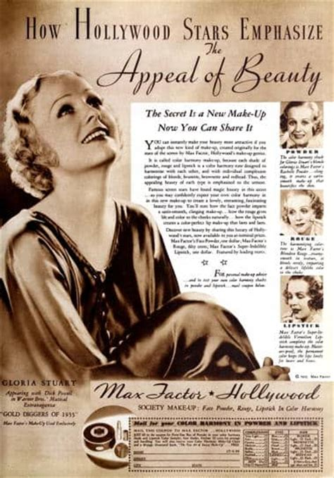 Vintage Appeal From Vintage A Peel by Cosmetics And Skin Max Factor