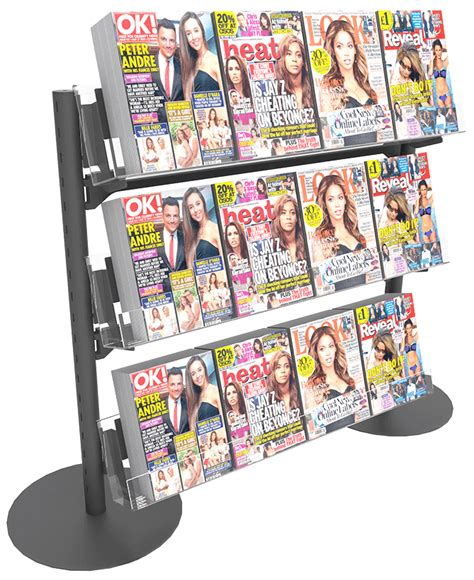 Shelf Magazine by Bartuf Q 4 Magazine Shelf 1t