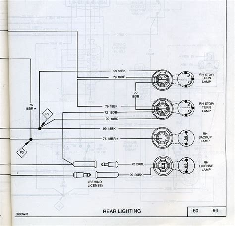 jeep comanche light wiring diagram jeep fuse diagram