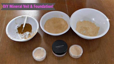 Handmade Mineral Makeup - diy mineral veil foundation