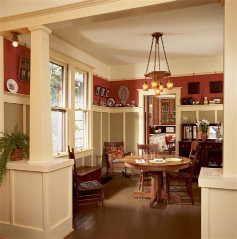 bungalow dining room wainscoting on pinterest faux wainscoting picture frame