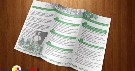 cara membuat brosur kuliner cara mudah membuat brosur lipat 3 dengan photoshop