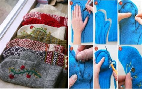 How To Make Handmade Sweater - how to make mittens out of sweaters peak prosperity