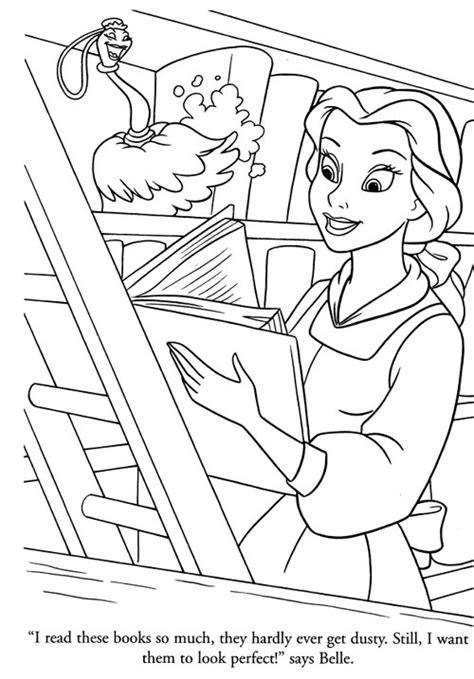 belle reading coloring page disney princesses belle coloring pages gt gt disney coloring