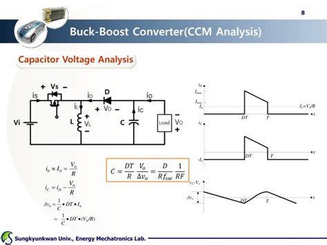 buck boost inductor current ppt dc dc converter ii buck boost cuk powerpoint presentation id 1595892