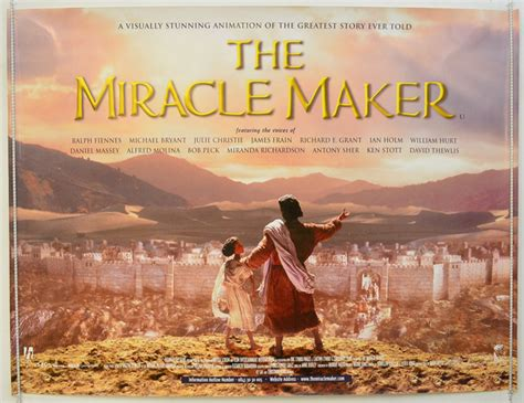 The Miracle Maker 2000 Miracle Maker The Original Cinema Poster From Pastposters Posters And