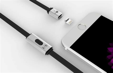 Tkn Magnetic Lightning Charging Cable For Iphone you can t help but be attracted to this magnetic lightning cable cult of mac