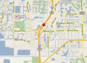 Miramar Florida Map by Semi Truck Accident On I 75 In Miramar Fl Traps Driver