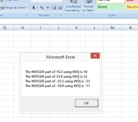 git tutorial exle excel vba formula math functions int