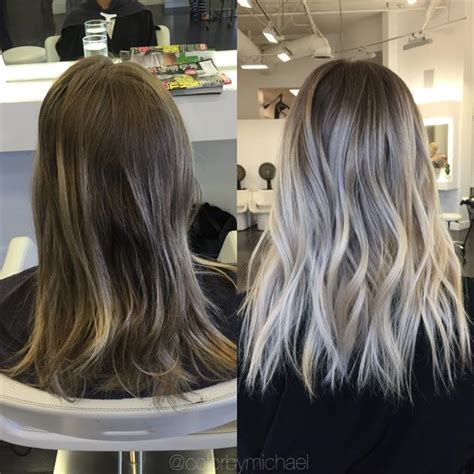 hairdresser glasgow olaplex transformation faded to light ash rooty blonde career