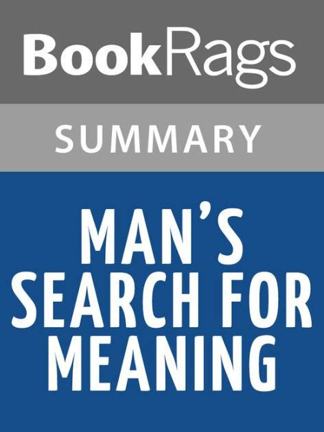 libro mans search for meaning man s search for meaning by viktor frankl l summary study guide by bookrags nook book ebook