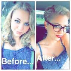 haircut before and after tumblr long hair to pixie cut before and after google search