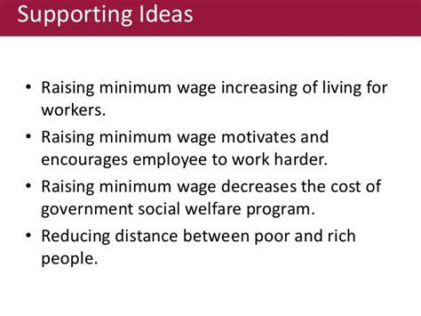 working on minimum wage does rasing minimum wage help working poor