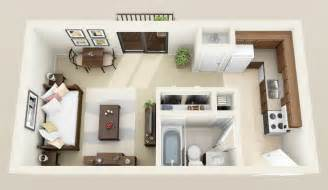 Garage Studio Apartment Plans by Small Apartment Floorplans House Plans Pinterest