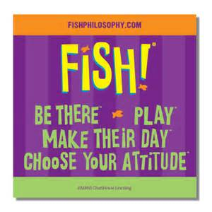 How To Find Negative Energy At Home fish creators of fish philosophy training
