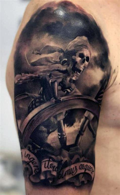 40 pirate tattoos on sleeve