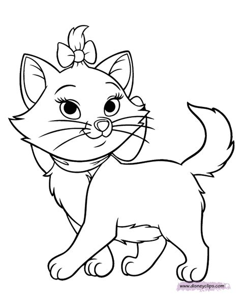 the aristocats coloring pages 3 disney coloring book
